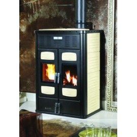 POELE HYDROLIQUE 35kw double foyer BI-FIRE